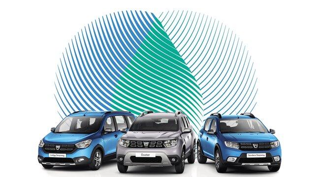 voitures GPL Dacia