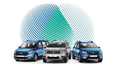 Gamme Dacia GPL