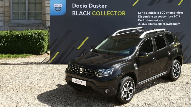 Duster Black collector