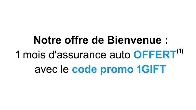 Dacia Assurances - offre bienvenue