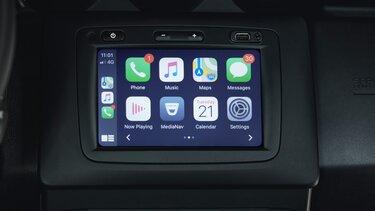 media nav - réplication Apple Carplay