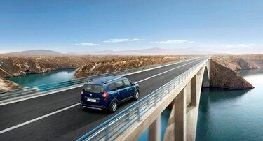 Dacia Logan MCV ECO-G face avant