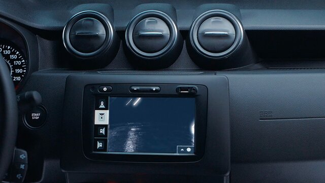 Dacia Duster Black Collector - Caméra Multivues