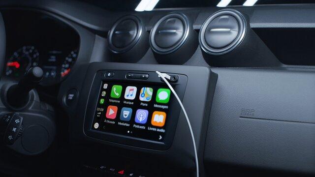 Système Multimédia Apple CarPlay & Android Auto
