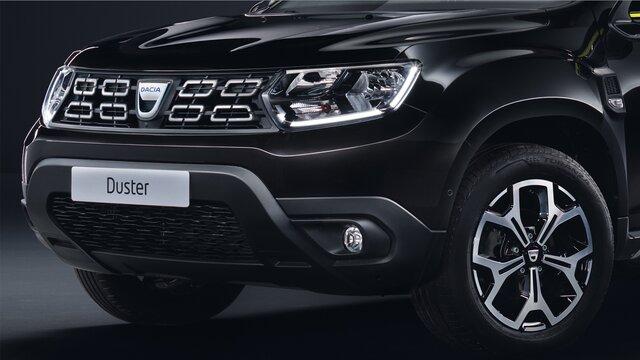 Dacia Duster Black Collector - Ski Avant Noir Grainé
