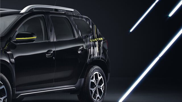 Dacia Duster Black Collector - Stripping Carrosserie Arrière