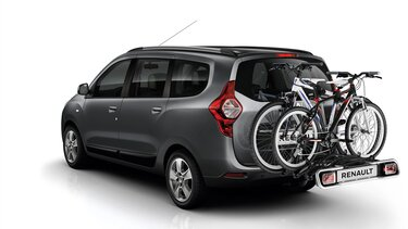 Dacia Lodgy - Porte-vélos sur attelage