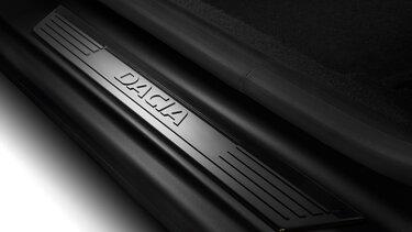 Lodgy - Seuils de portes avant noir Dacia