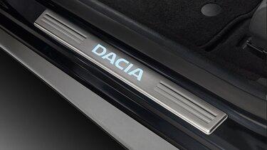 Lodgy - Seuils de portes éclairés Dacia