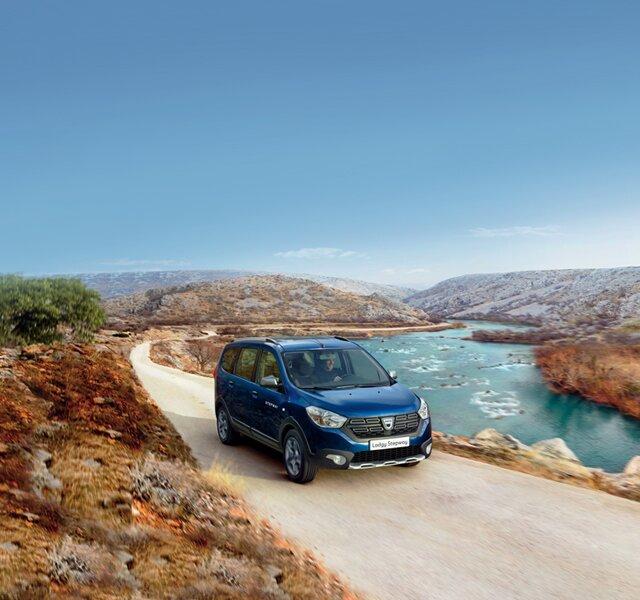Dacia Lodgy - Éxtérieur bleu