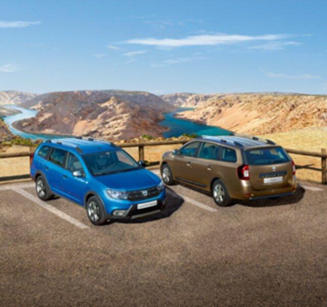 Dacia Logan MCV et Stepway