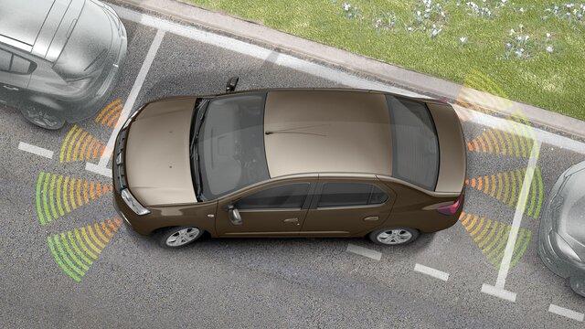 Dacia Logan - Aide au stationnement avant et arrière