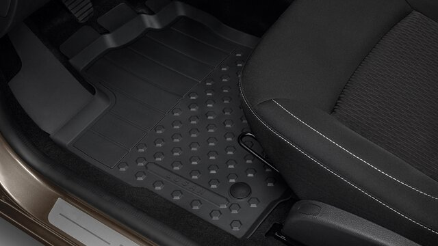 Dacia Logan - Tapis de sol caoutchouc