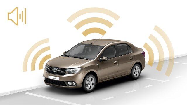 Dacia Logan - Alarme