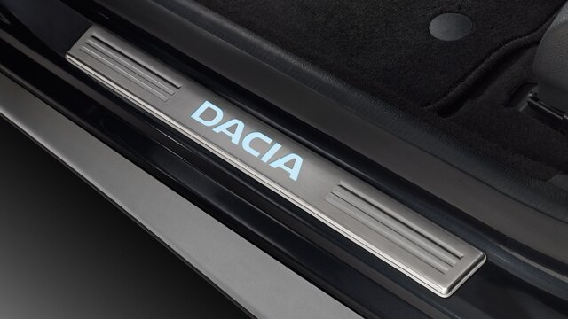 Dacia Logan - Seuils de portes éclairés Dacia
