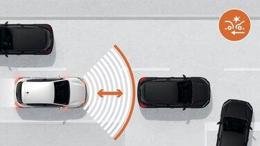 Système de freinage actif d'urgence (AEBS) Sandero