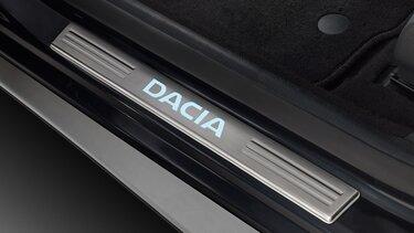 Sandero - Seuils de portes éclairés Dacia