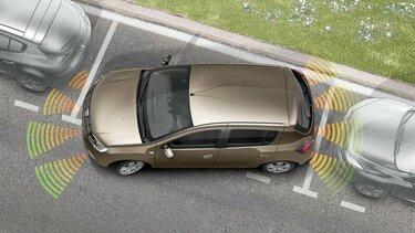 Sandero - Aide au stationnement avant et arrière