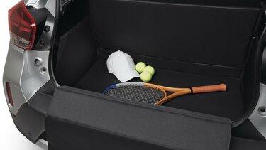 Nouvelle Dacia Spring protection de coffre modulable Easyflex