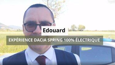 test Dacia Spring Edouard