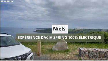test vidéo Dacia Spring Niels