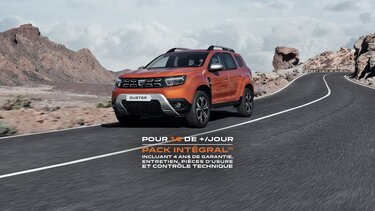 Offre Pack intégral- Dacia Duster