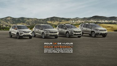 Gamme Dacia - Pack Intégral