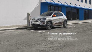 Nouvelle Dacia Spring - citadine électrique Dacia