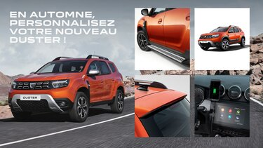 offre automne Duster