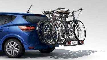Porte-vélos sur attelage - Sandero