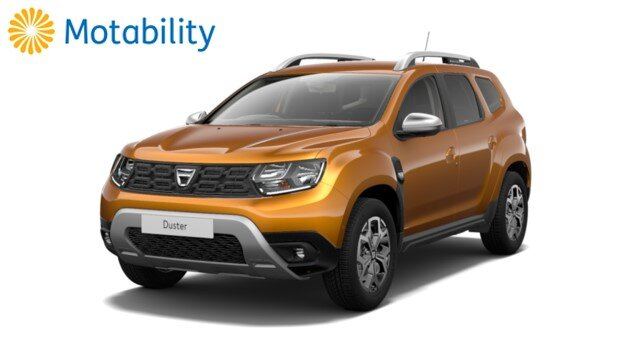 Duster and Motability logo