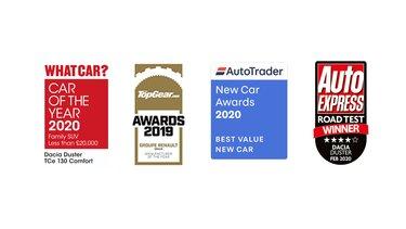 Dacia Duster awards