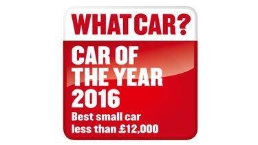 2016 What Car? Best small car less than £12,000