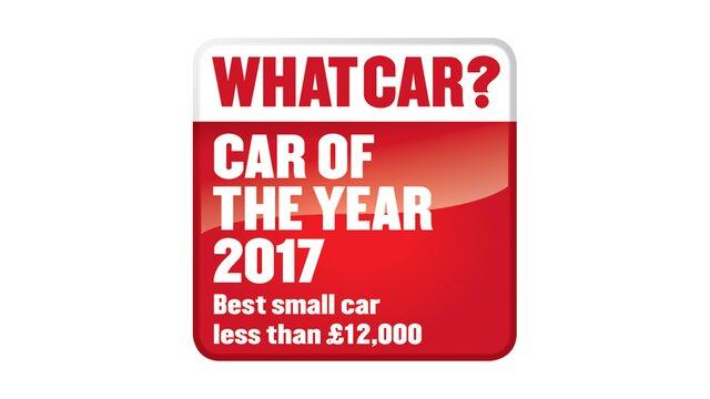 2017 What Car? Best small car less than £12,000