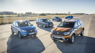 Dacia number one car manufacturer for Brand Advocacy 2018