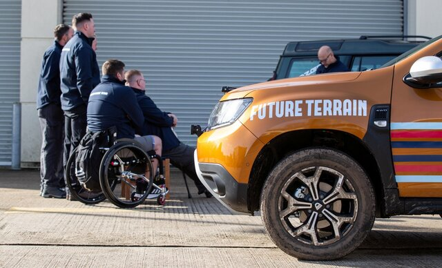 Dacia announced a new partnership with charity Future Terrain