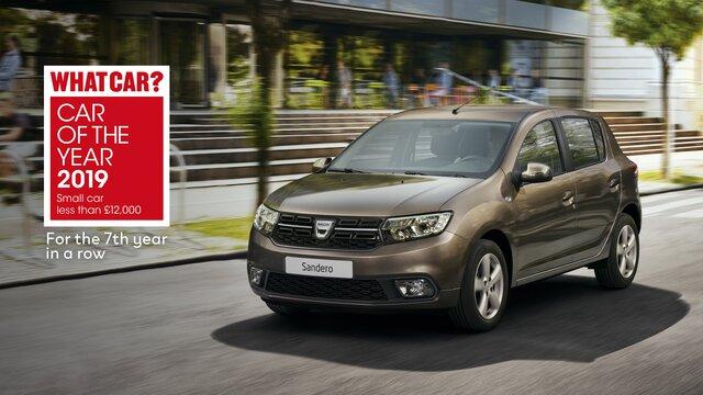 Dacia double at What Car? Awards 2019