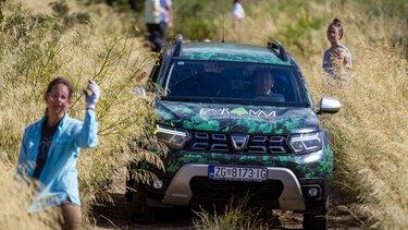 Dacia Duster neoBORivi pomagač Boranke