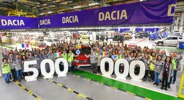 500.000 primerkov novega vozila Dacia DUSTER