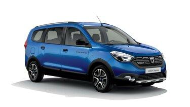 Dacia Lodgy 15<sup>th</sup> Celebration évfordulós limitált széria, háromnegyedes elölnézet