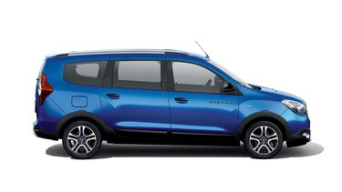 Dacia Lodgy 15<sup>th</sup> Celebration évfordulós limitált széria, oldalnézet