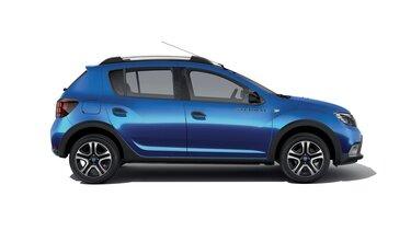 Dacia Sandero Stepway – 15<sup>th</sup> Celebration évfordulós limitált széria, oldalnézet