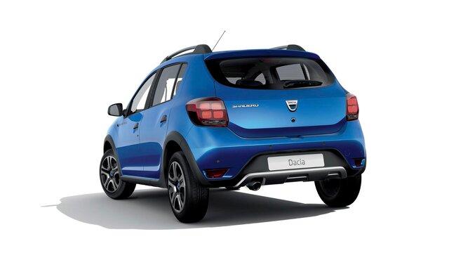 Dacia Sandero Stepway – 15<sup>th</sup> Celebration évfordulós limitált széria, háromnegyedes hátulnézet
