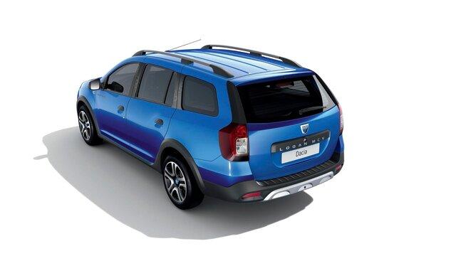 Dacia Logan MCV Stepway –15<sup>th</sup> Celebration évfordulós limitált széria, háromnegyedes hátulnézet