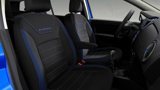 Dacia Sandero Stepway – limitált széria, külső dizájn - Vezető és utasoldali ülés