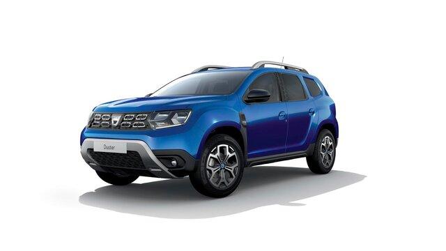 Dacia Duster – 15<sup>th</sup> Celebration évfordulós limitált széria, háromnegyedes elölnézet