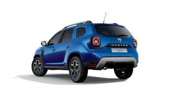 Dacia Duster – 15<sup>th</sup> Celebration évfordulós limitált széria, háromnegyedes hátulnézet