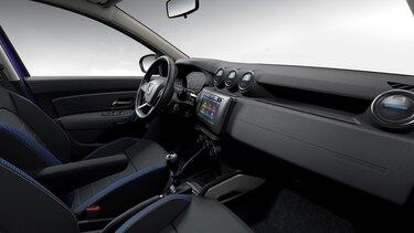 Dacia Duster – limitált széria, belső dizájn - Kormány, műszerfal, utas nézet