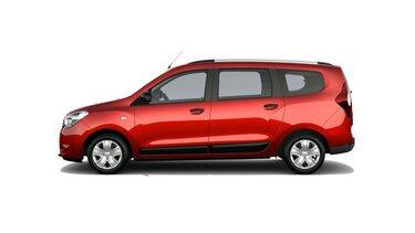 Dacia Lodgy 15th Celebration limitált széria oldalról