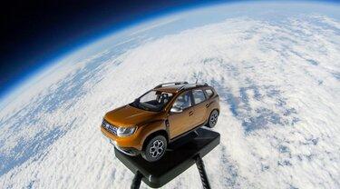 Dacia Duster, programma spaziale DUSTAR